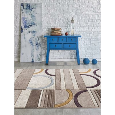 Aguirre Rectangle Beige Indoor/Outdoor Area Rug Rug Size: 2 x 3