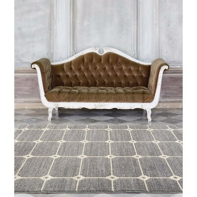 Emmaline Gray Indoor/Outdoor Area Rug Rug Size: 2 x 34