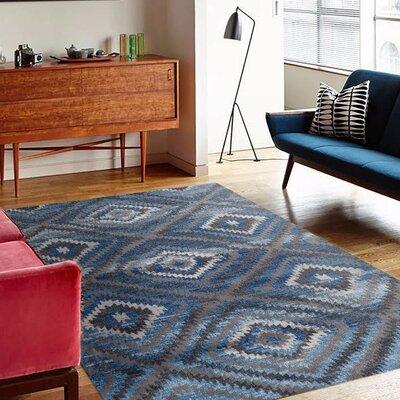 Emmaline Blue/Gray Indoor/Outdoor Area Rug Rug Size: 2 x 3