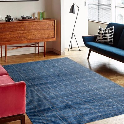 Emmaline Blue Indoor/Outdoor Area Rug Rug Size: 2 x 3