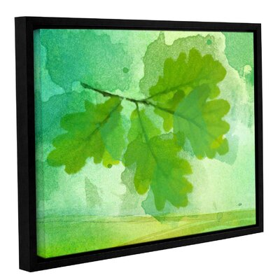 'Summer Leaf IV' Framed Print on Canvas Size: 14