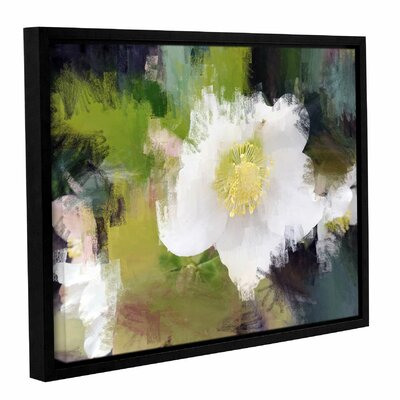 'Awesome' Framed Print on Canvas Size: 14
