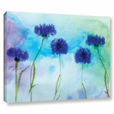 'Summer' Print on Wrapped Canvas Size: 14