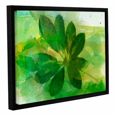'Summer Leaf I' Framed Print on Canvas Size: 14