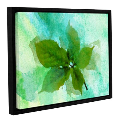 'Summer Leaf II' Framed Print on Canvas Size: 14