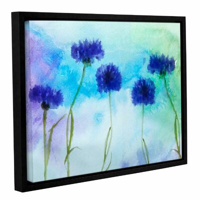 'Summer' Framed Print on Canvas Size: 14