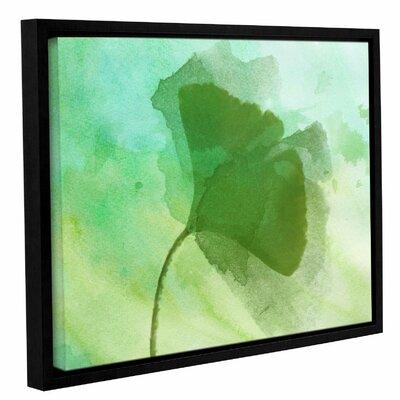 'Summer Leaf III' Framed Print on Canvas Size: 14