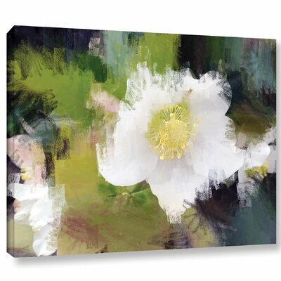 'Awesome' Print on Wrapped Canvas Size: 14