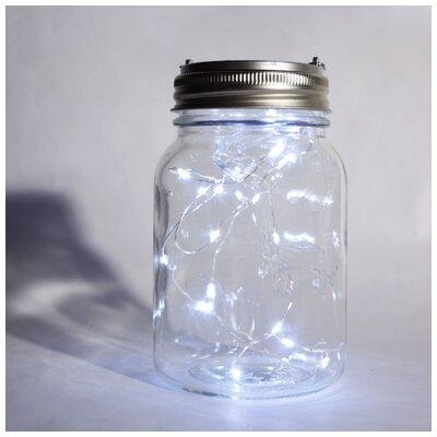 Kaidence Mason Jar Pendant Bulb Type: Cool White