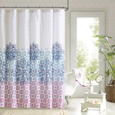 Alaysia 14 Piece Shower Curtain Set Color: Multi