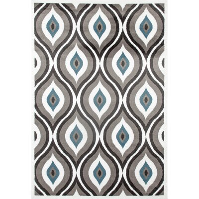 Penny Gray/Blue Area Rug Rug Size: 710 x 102