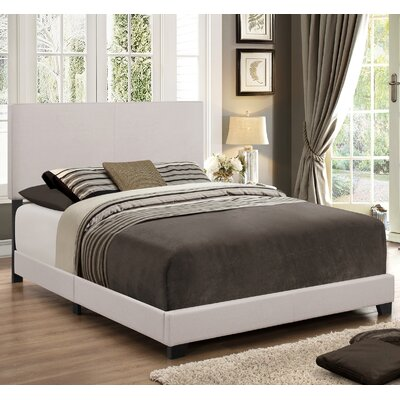 Newport Upholstered Panel Bed Size: King