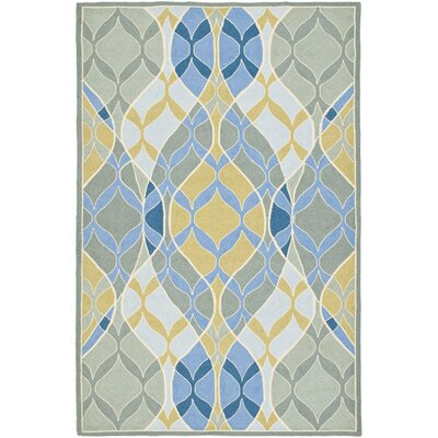 Demetra Blue Multi Rug Rug Size: Rectangle 53 x 83