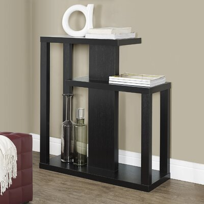 Rene Three Tiered Console Table Finish: Cappuccino