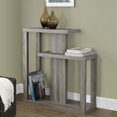 Rene Three Tiered Console Table Finish: Dark Taupe