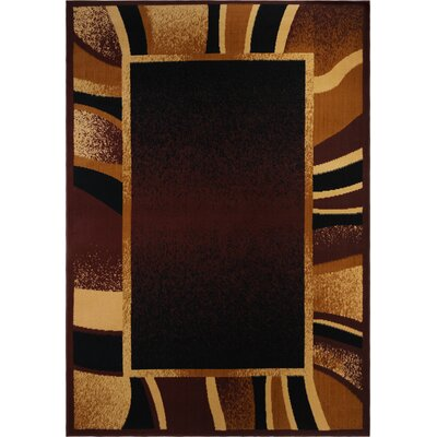Harkness Brown Area Rug Rug Size: 19 x 29