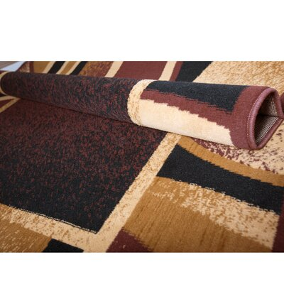 Simona Brown Area Rug Rug Size: Runner 19 x 72