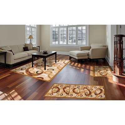 Simona Abstract Area Rug Rug Size: Runner 19 x 72