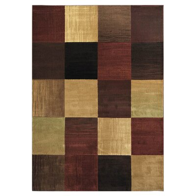 Ferrell Checkered Area Rug Rug Size: Rectangle 53 x 72
