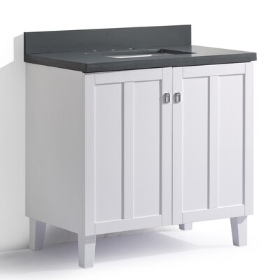 Lehigh 36 Single Sink Bathroom Vanity Set