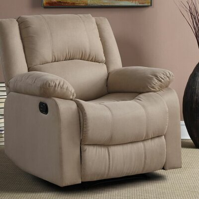 Meade Manual Recliner Upholstery: Beige