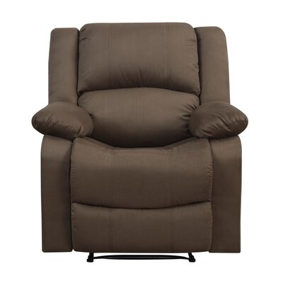 Clyde Recliner Upholstery: Chocolate