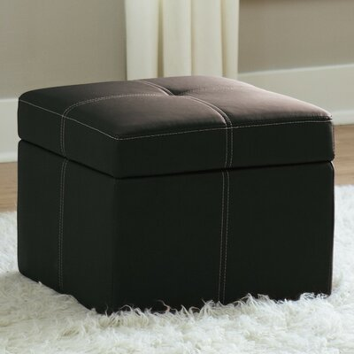 Cooper Ottoman Color: Black