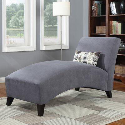 Dante Chaise Lounge Upholstery: Gray