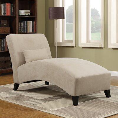 Dante Chaise Lounge Upholstery: Khaki