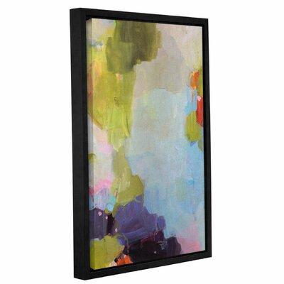 'Velvet Skies' Framed Painting Print on Wrapped Canvas Size: 12