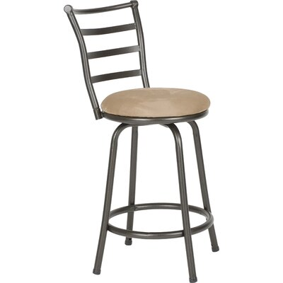 Deandre Adjustable Height Swivel Bar Stool