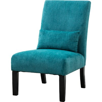 Randi Slipper Chair Color: Teal