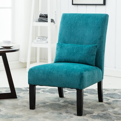 Randi Slipper Chair Color: Teal