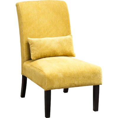 Randi Slipper Chair Color: Yellow