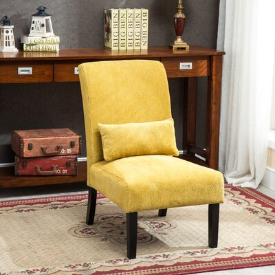 Randi Slipper Chair Upholstery: Yellow