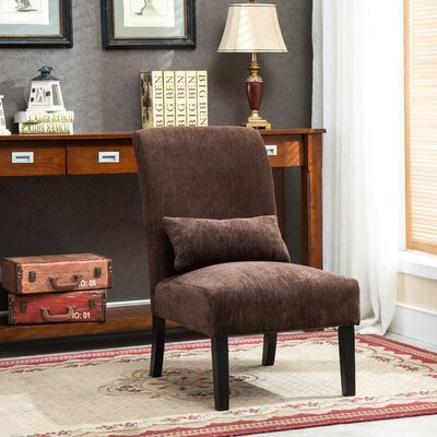 Randi Slipper Chair Color: Chocolate