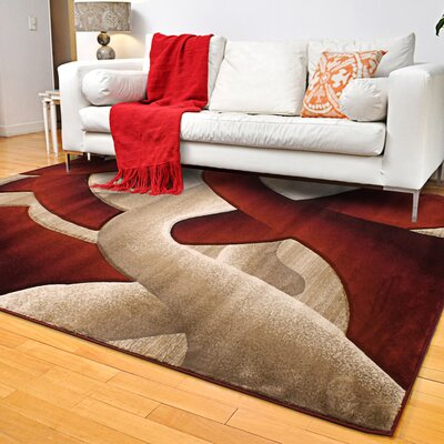 Rene Light Beige Area Rug Rug Size: Rectangle 8 x 11