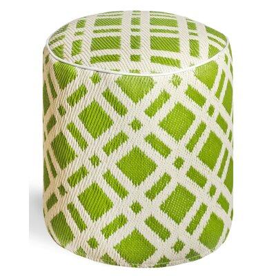 Reva Pouf Upholstery: Green