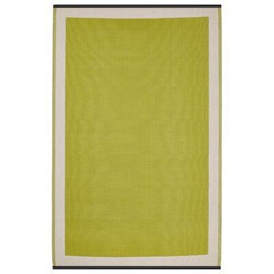 Reva Green Indoor/Outdoor Area Rug Rug Size: 3 x 5
