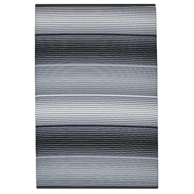 Reva Gray Indoor/Outdoor Area Rug Rug Size: 4 x 6