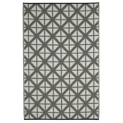 Reva Paloma/White Indoor/Outdoor Area Rug Rug Size: 4 x 6