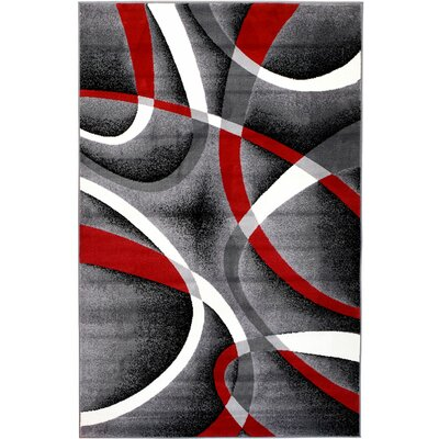 Rick Area Rug Rug Size: Rectangle 74 x 106