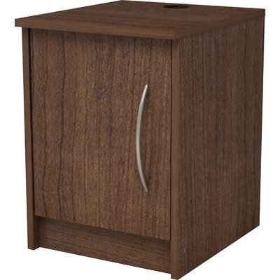 Karis Nightstand Color: Walnut
