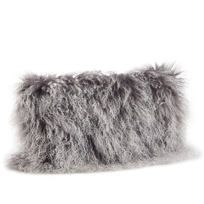 Becky Lumbar Pillow Color: Charcoal