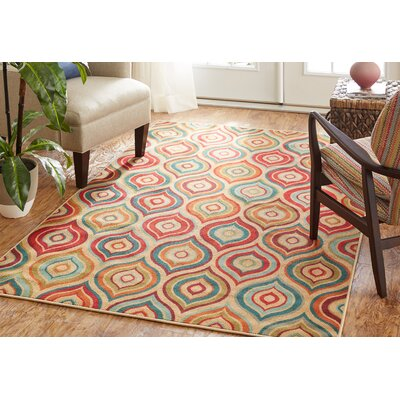 Esperanza Tan Area Rug Rug Size: Rectangle 5 x 8