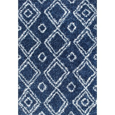 Alexa Lola Blue Area Rug Rug Size: Rectangle 4 x 6
