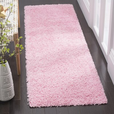 Cherlyn Pink Area Rug