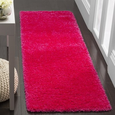 Collete Pink Area Rug Rug Size: Rectangle 8 x 10