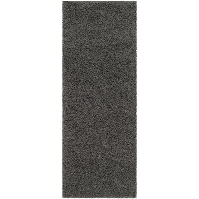 Kourtney Dark Grey Area Rug Rug Size: Runner 23 x 6
