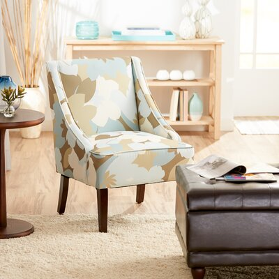 Campos Slipper Chair Color: Floral